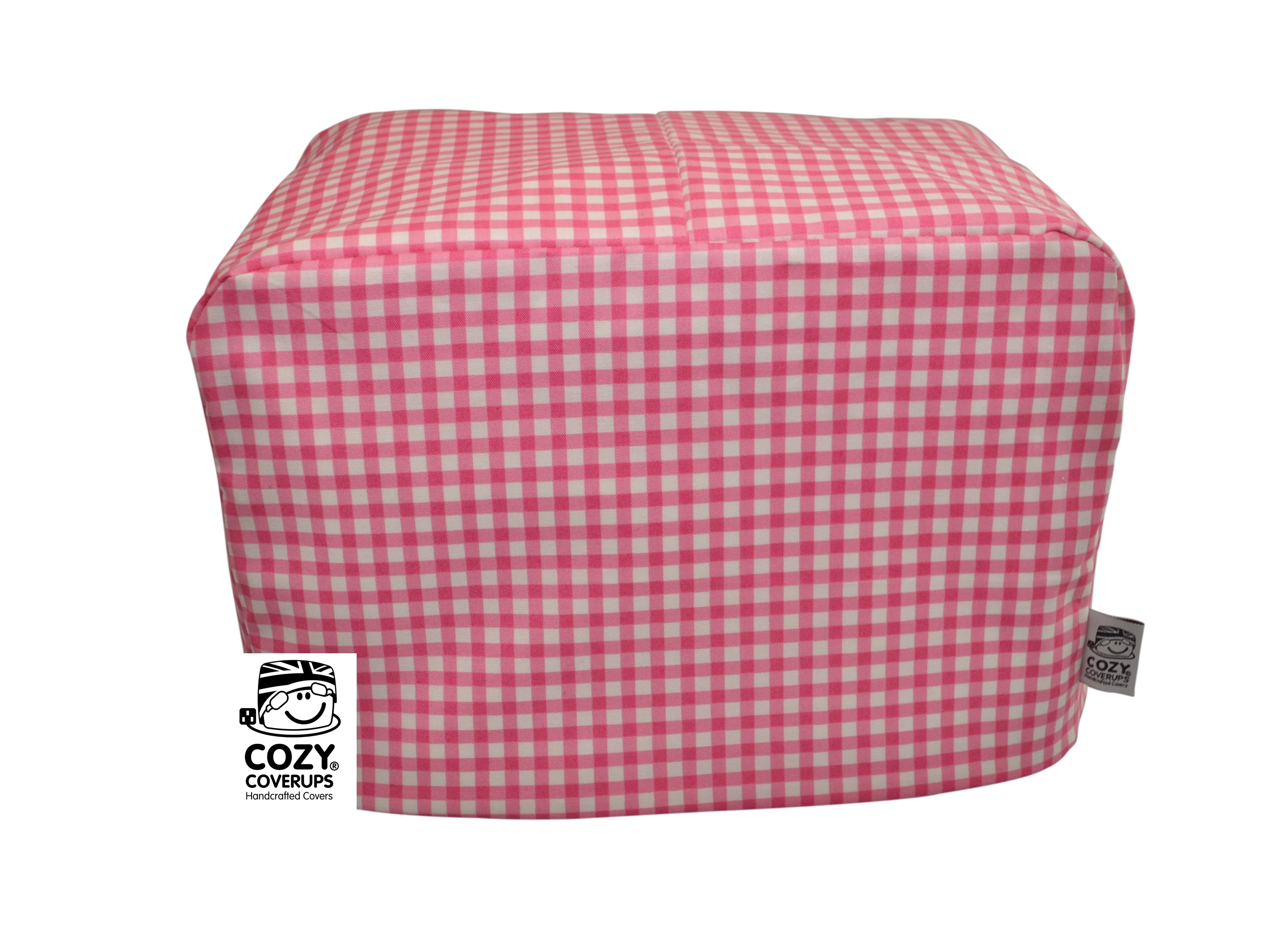 Bright pink gingham toaster image.jpg
